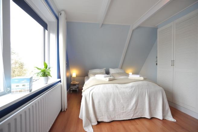 Slaapkamer noord 2 persoonsbed